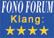 Fono Forum - Klang: 4/5