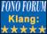 Fono Forum - Klang: 5 von 5