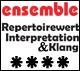 Repertoirewert, Interpretation und Klang: 4/5