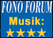 Fono Forum - Musik: 4/5 Sternen