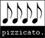 Pizzicato - 4/5 Noten