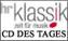 Hessischer Rundfunk - HR Klassik - CD des Tages