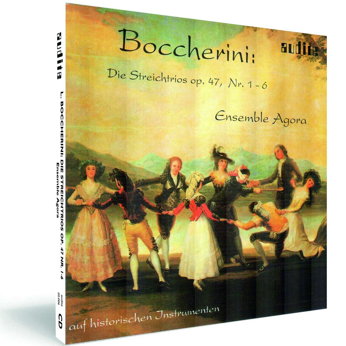 L. Boccherini: String Trios op. 47 Nos. 1-6