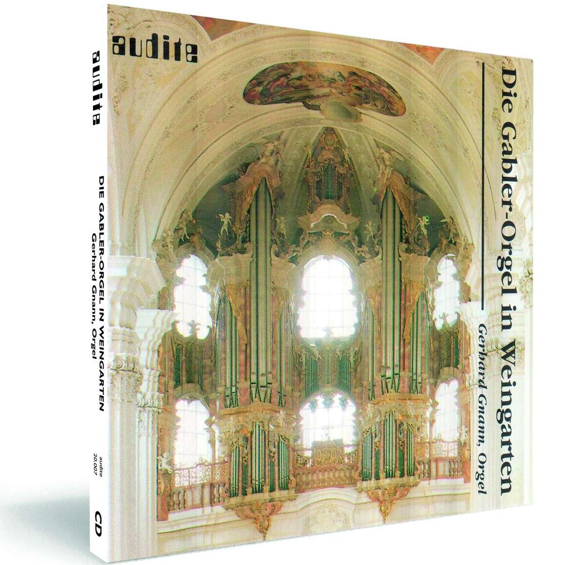 The Gabler-Organ in the Basilica Weingarten