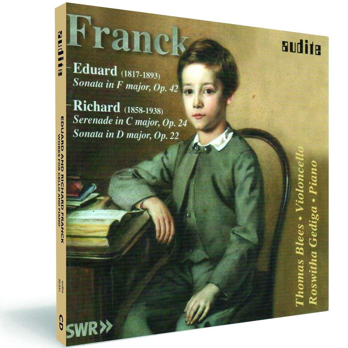 E. Franck & R. Franck: Works for Violoncello and Piano