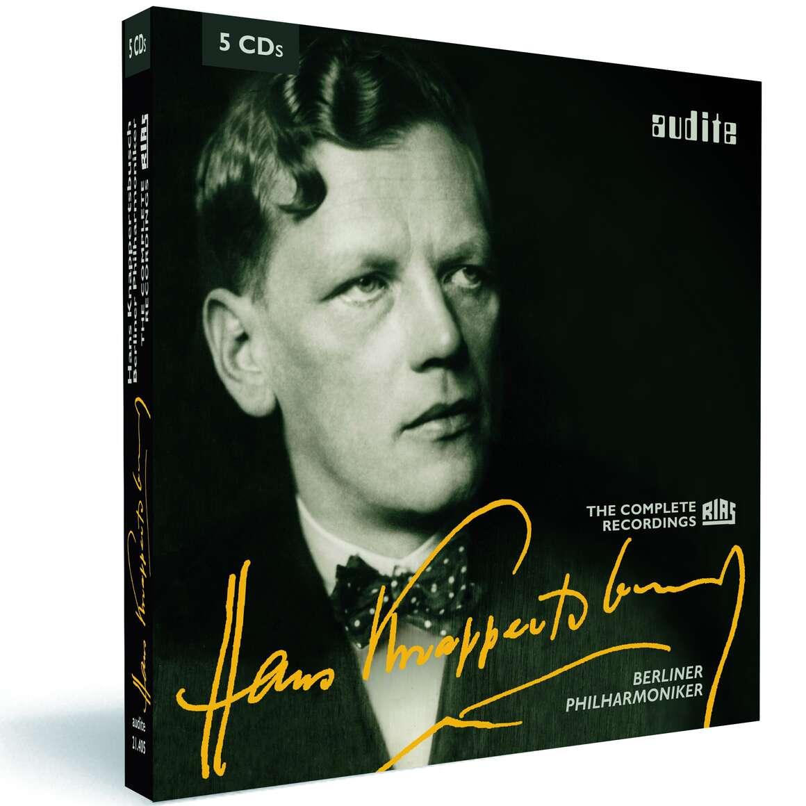 Edition Hans Knappertsbusch & Berliner Philharmoniker – The complete RIAS recordings