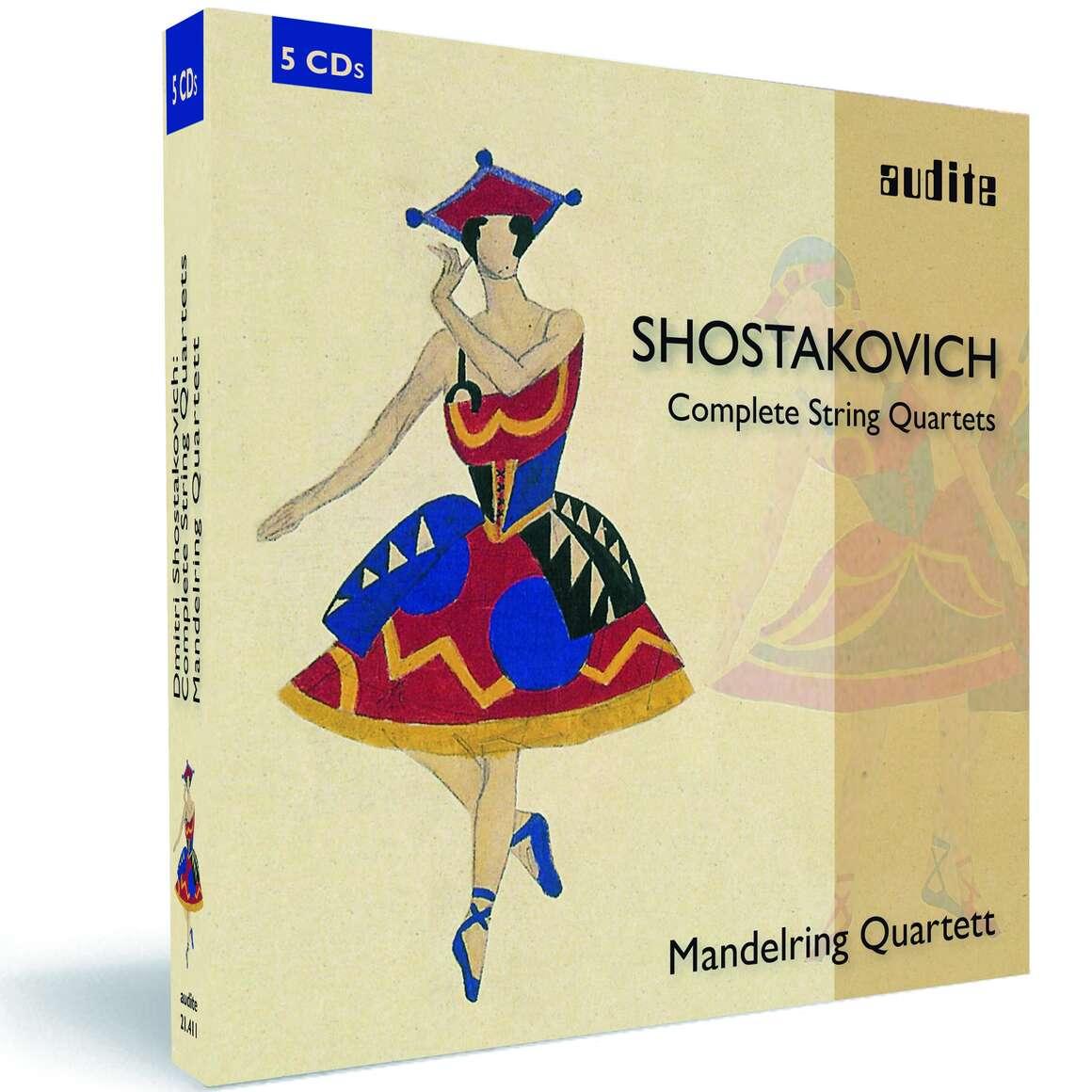 D. Shostakovich: The Complete String Quartets