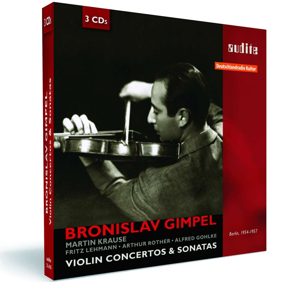 Portrait Bronislaw Gimpel