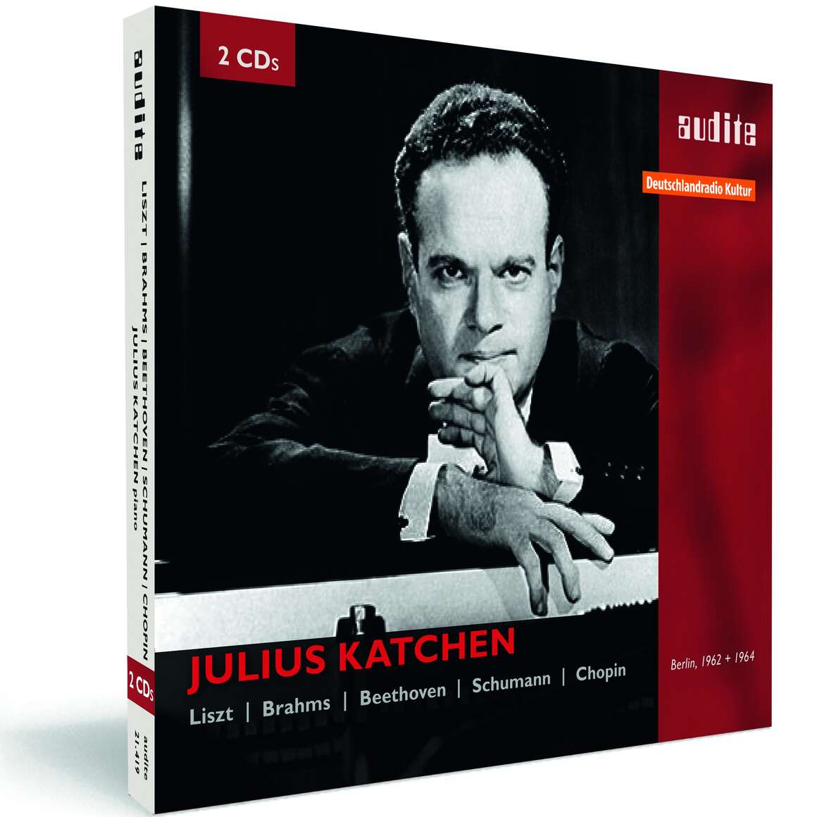 Julius Katchen plays Liszt, Brahms, Beethoven, Schumann and Chopin