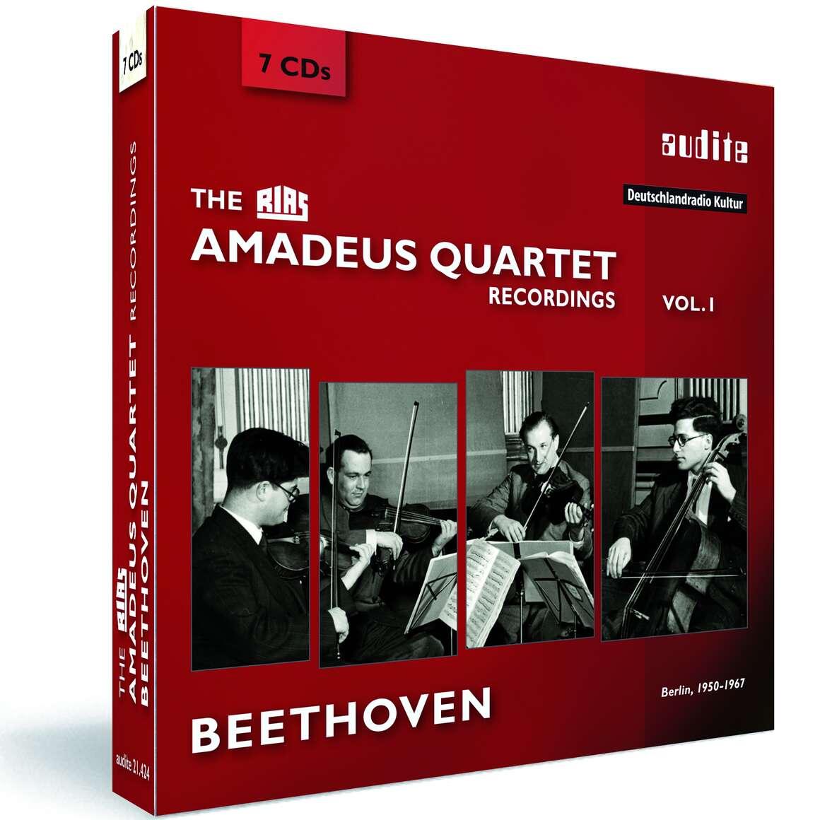 The RIAS Amadeus Quartet Beethoven Recordings