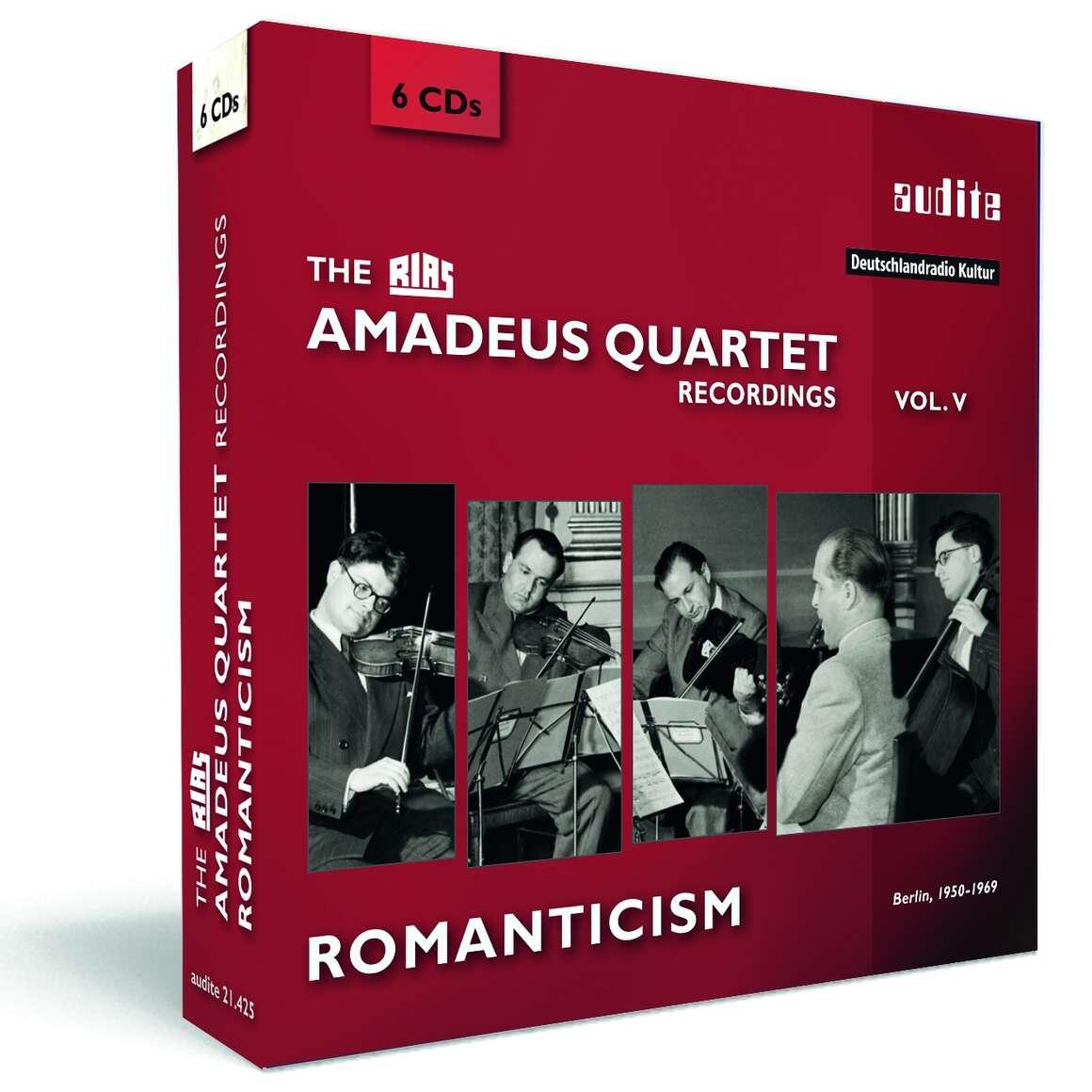 The RIAS Amadeus Quartet Recordings - Romanticism