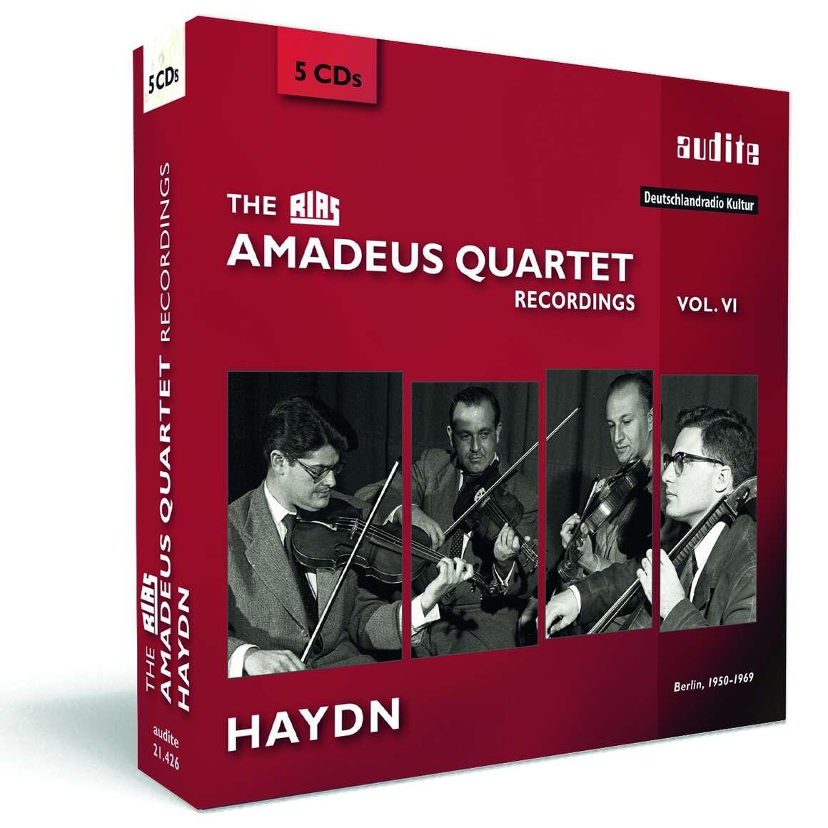 The RIAS Amadeus Quartet Haydn Recordings