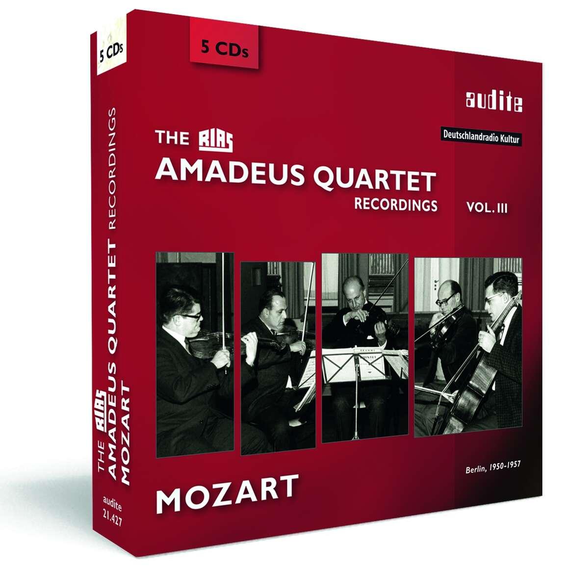 The RIAS Amadeus Quartet Mozart Recordings