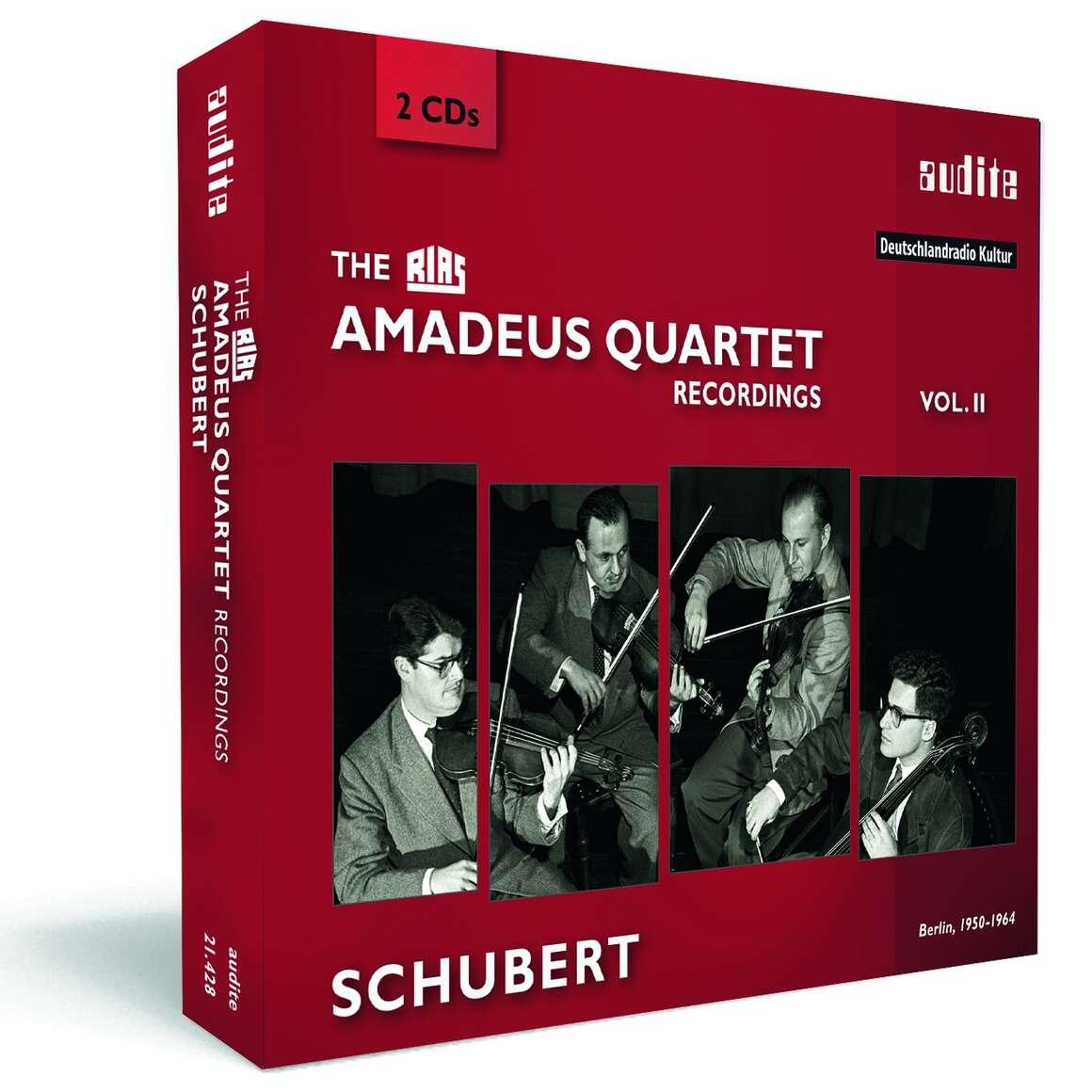 The RIAS Amadeus Quartet Schubert Recordings
