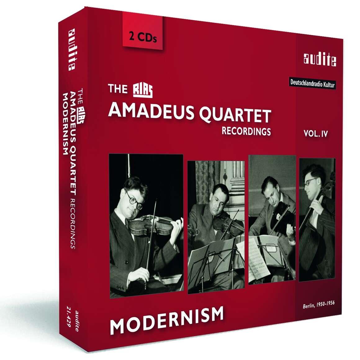 The RIAS Amadeus Quartet Recordings - Modernism