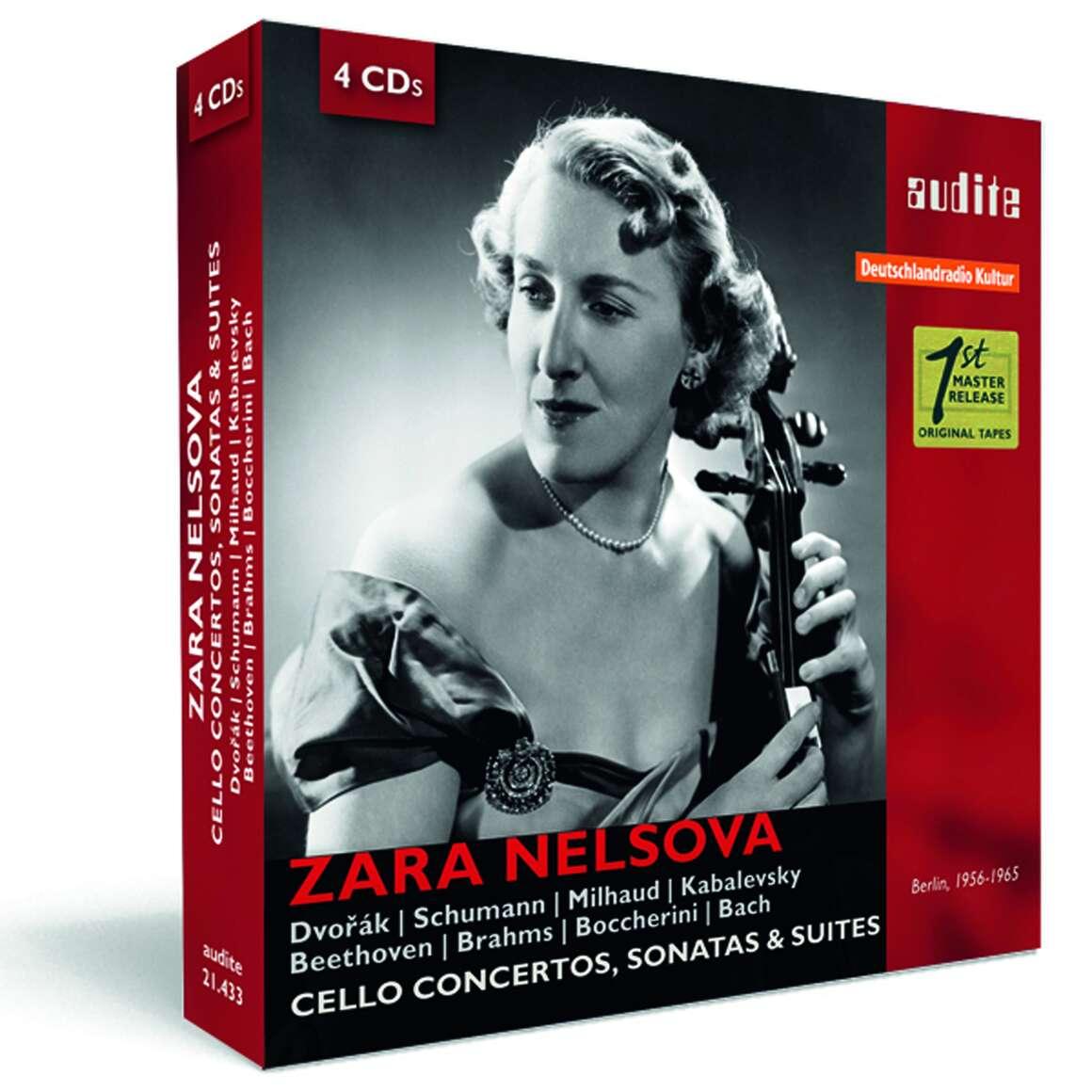 Portrait Zara Nelsova