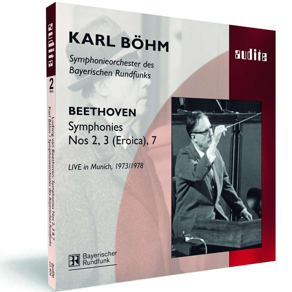 L. v. Beethoven: Symphony No. 2, No. 3 ('Eroica') & No. 7