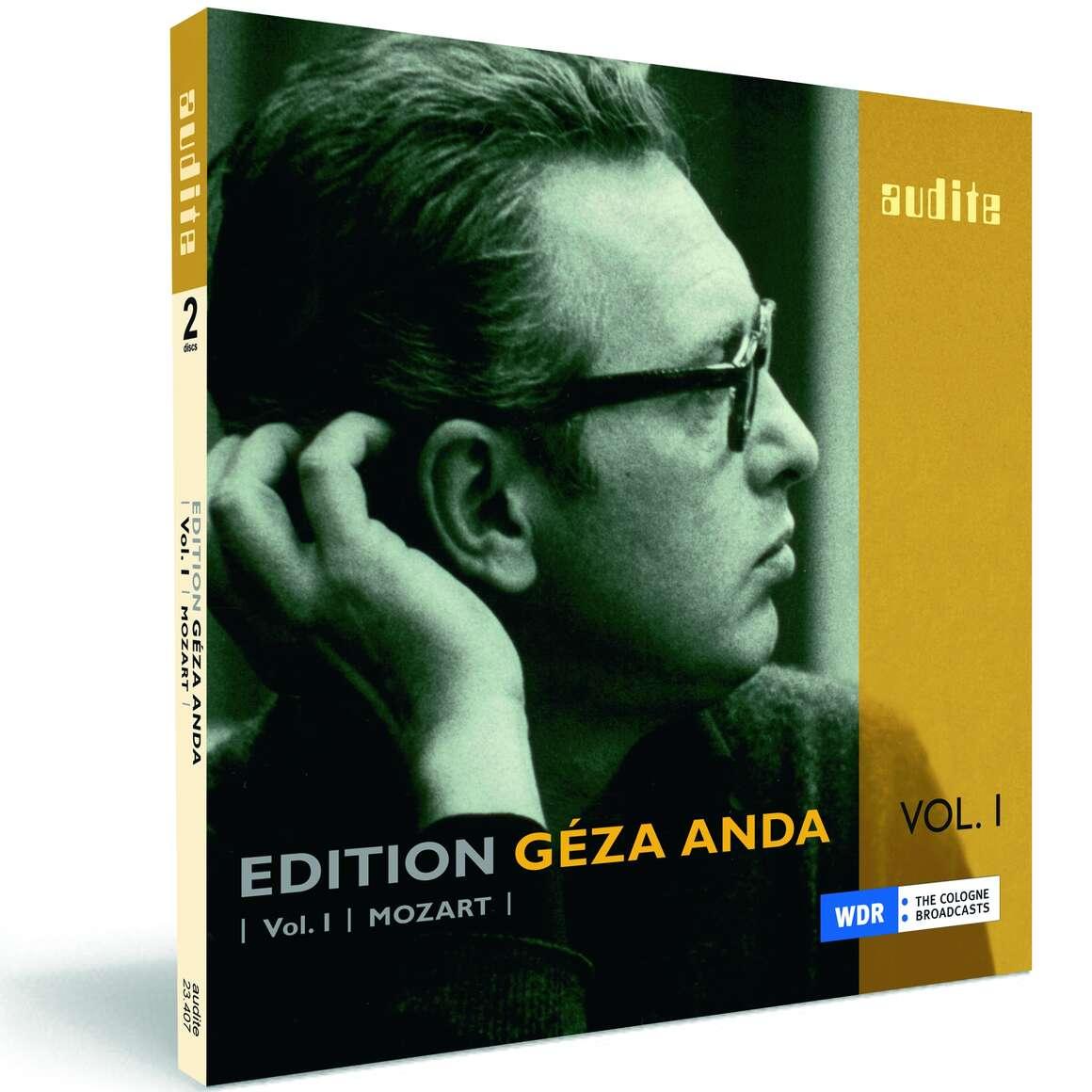 Edition Géza Anda (I) – Mozart