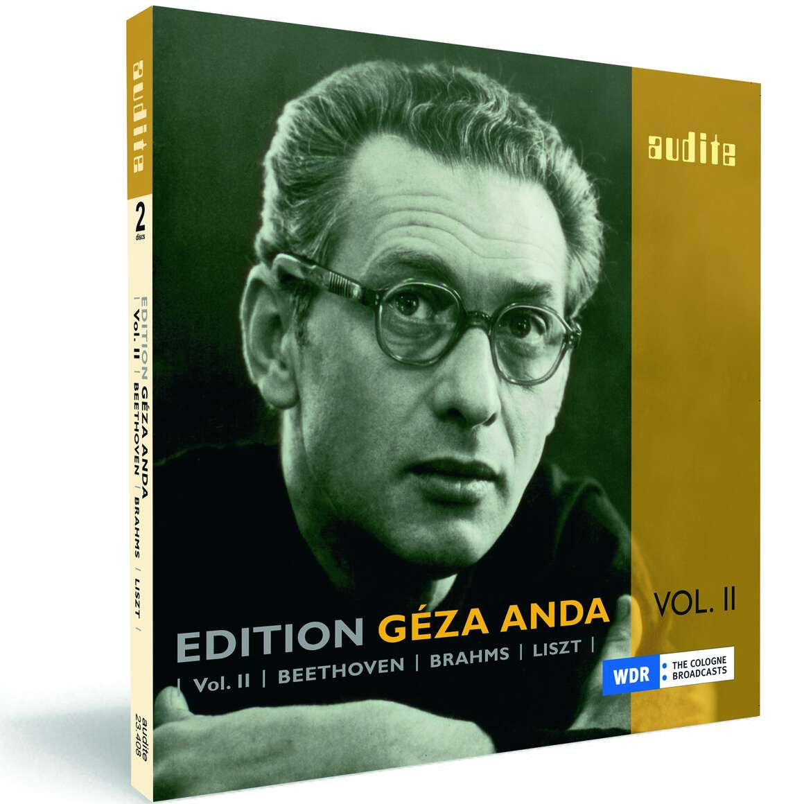 Edition Géza Anda (II) – Beethoven | Brahms | Liszt