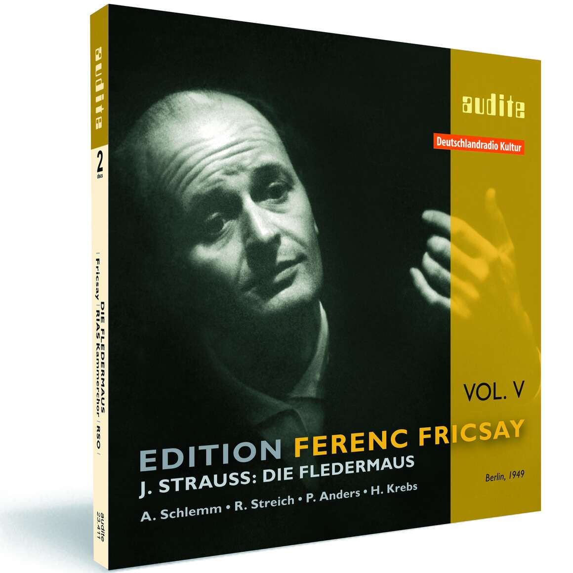 Edition Ferenc Fricsay (V) – J. Strauss: Die Fledermaus