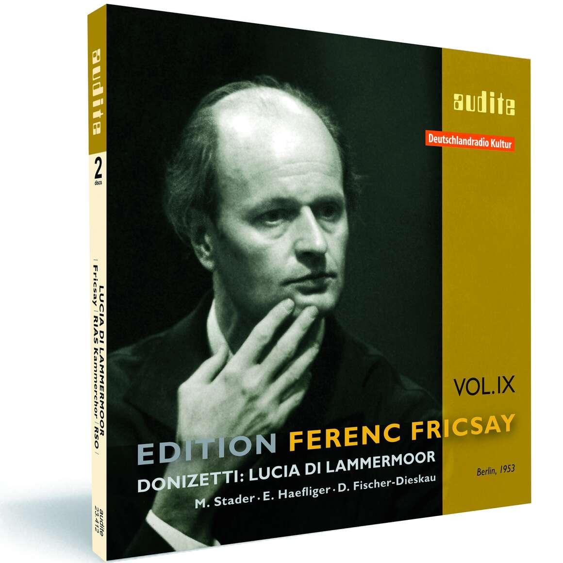 Edition Ferenc Fricsay (IX) – G. Donizetti: Lucia di Lammermoor