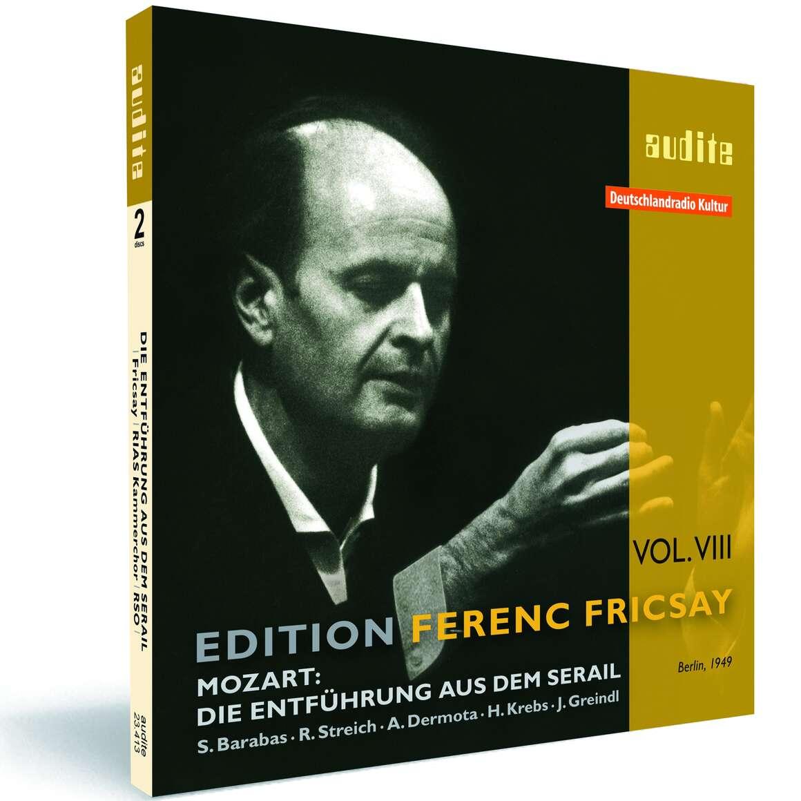 Edition Ferenc Fricsay (VIII) – W.A. Mozart: Die Entführung aus dem Serail