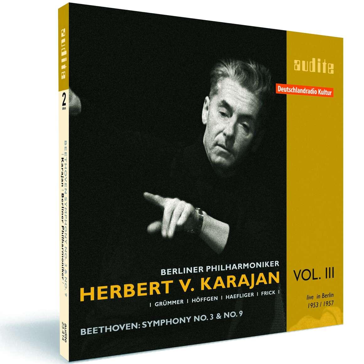 Edition von Karajan (III) – L. v. Beethoven: Symphony No. 3 ('Eroica') & No. 9
