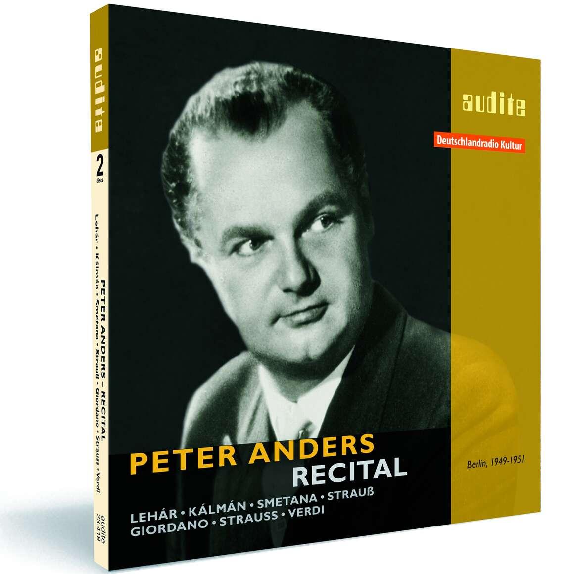 Peter Anders – Recital