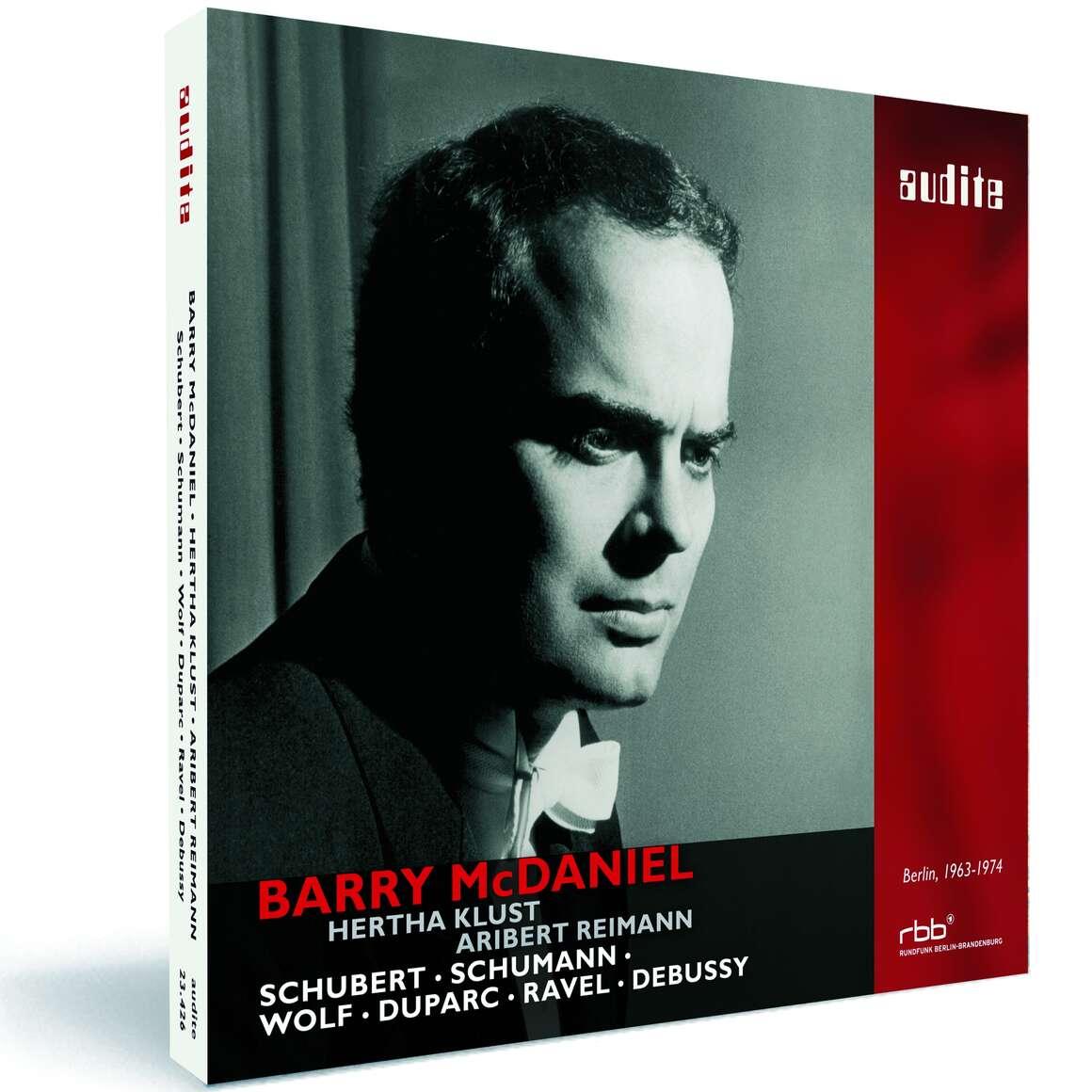 Barry McDaniel sings Schubert, Schumann, Wolf, Duparc, Ravel & Debussy
