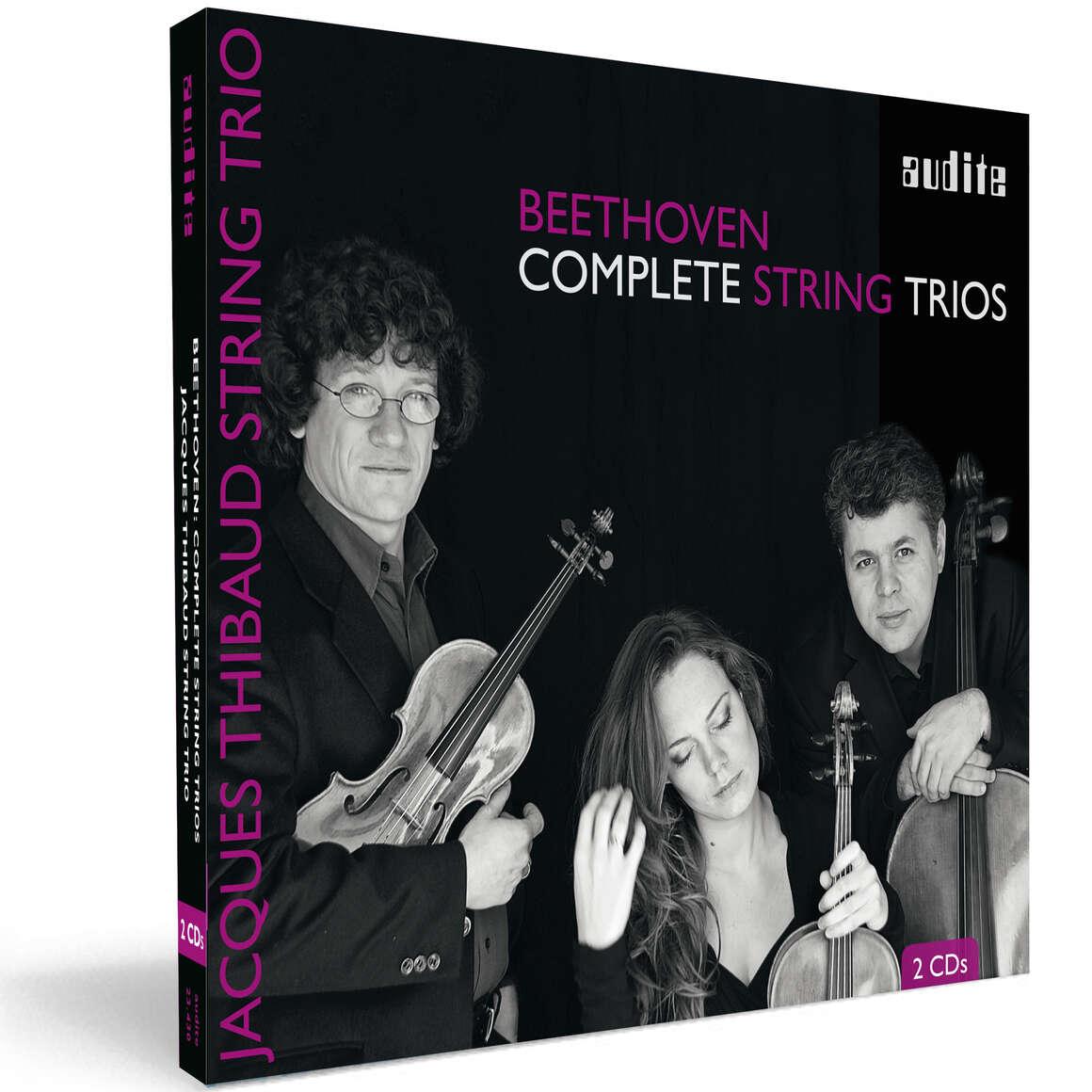 L. v. Beethoven: Complete String Trios Op. 3, 8 & 9
