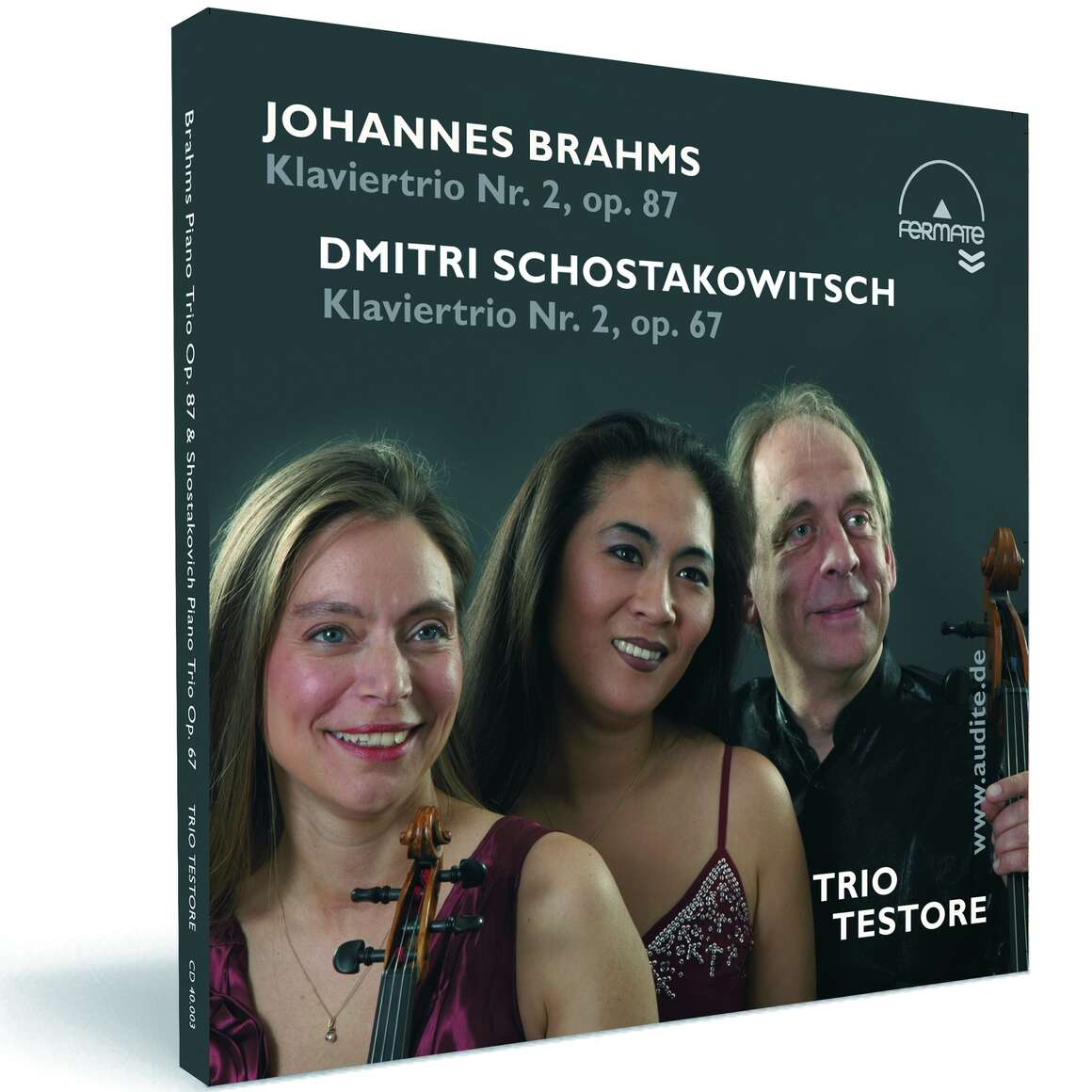 Piano Trios by Brahms (Op. 87) & Schostakowitsch (Op. 67)