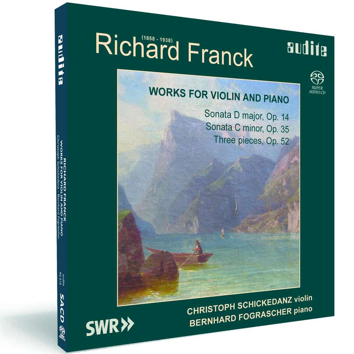 R. Franck: Violin Sonatas Nos 1 & 2, Three Pieces Op. 52