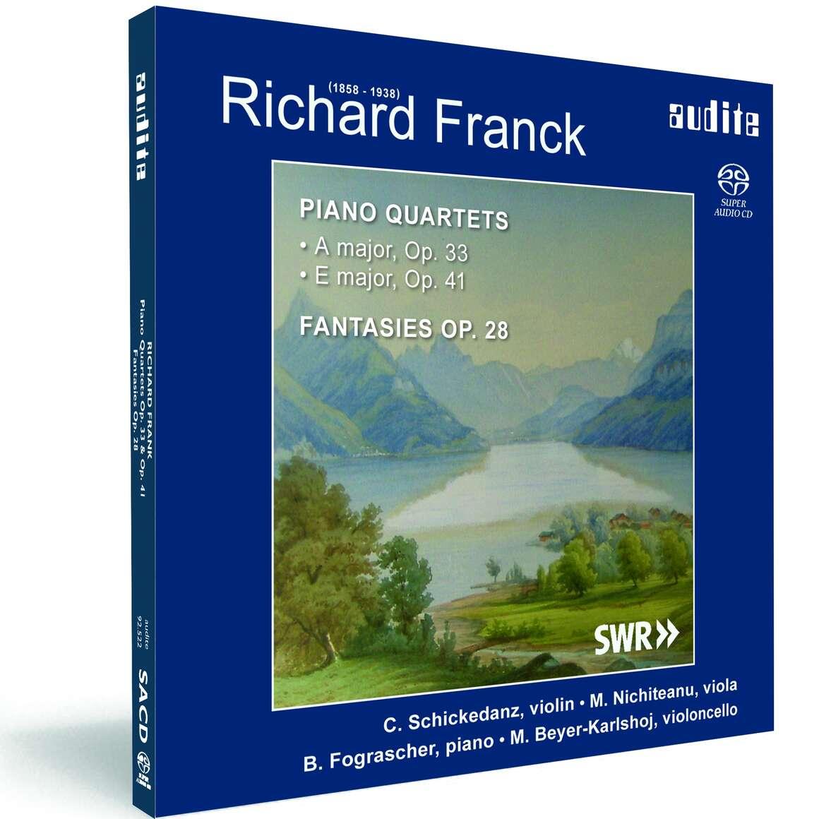 R. Franck: Piano Quartets & Fantasies