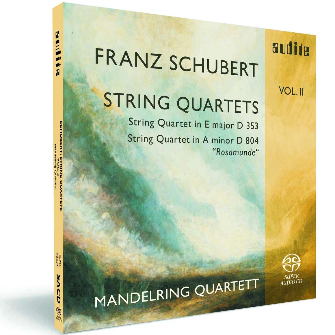 F. Schubert: String Quartets Vol. II