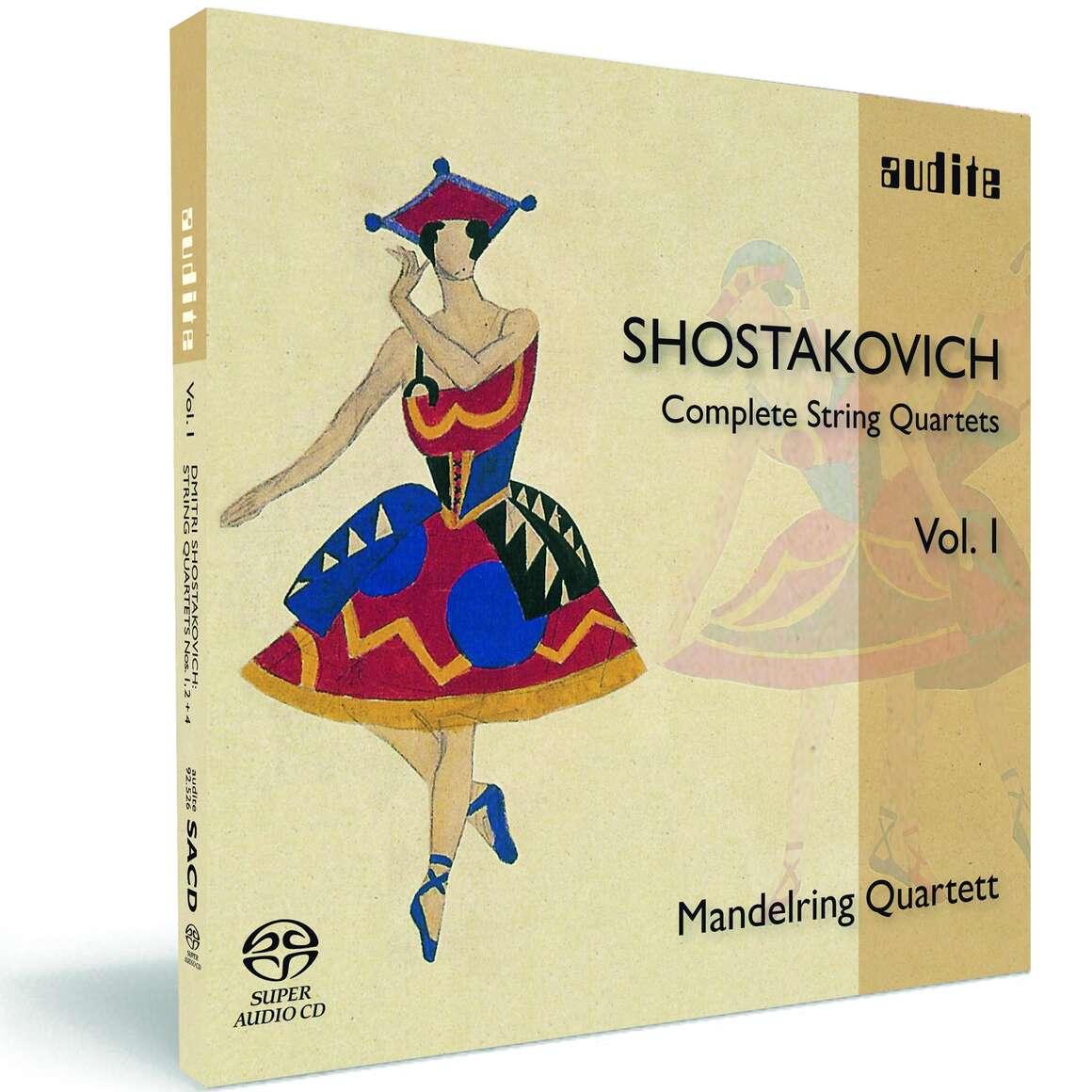 D. Shostakovich: Complete String Quartets Vol. I