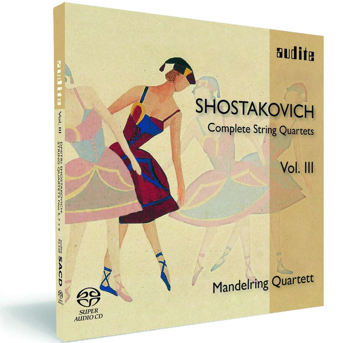 D. Shostakovich: Complete String Quartets Vol. III