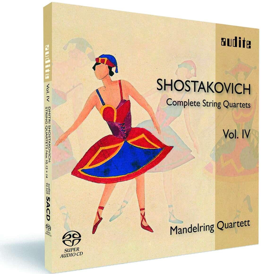 D. Shostakovich: Complete String Quartets Vol. IV