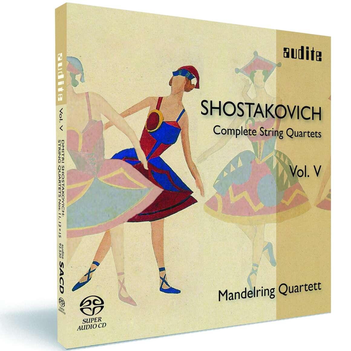 D. Shostakovich: Complete String Quartets Vol. V