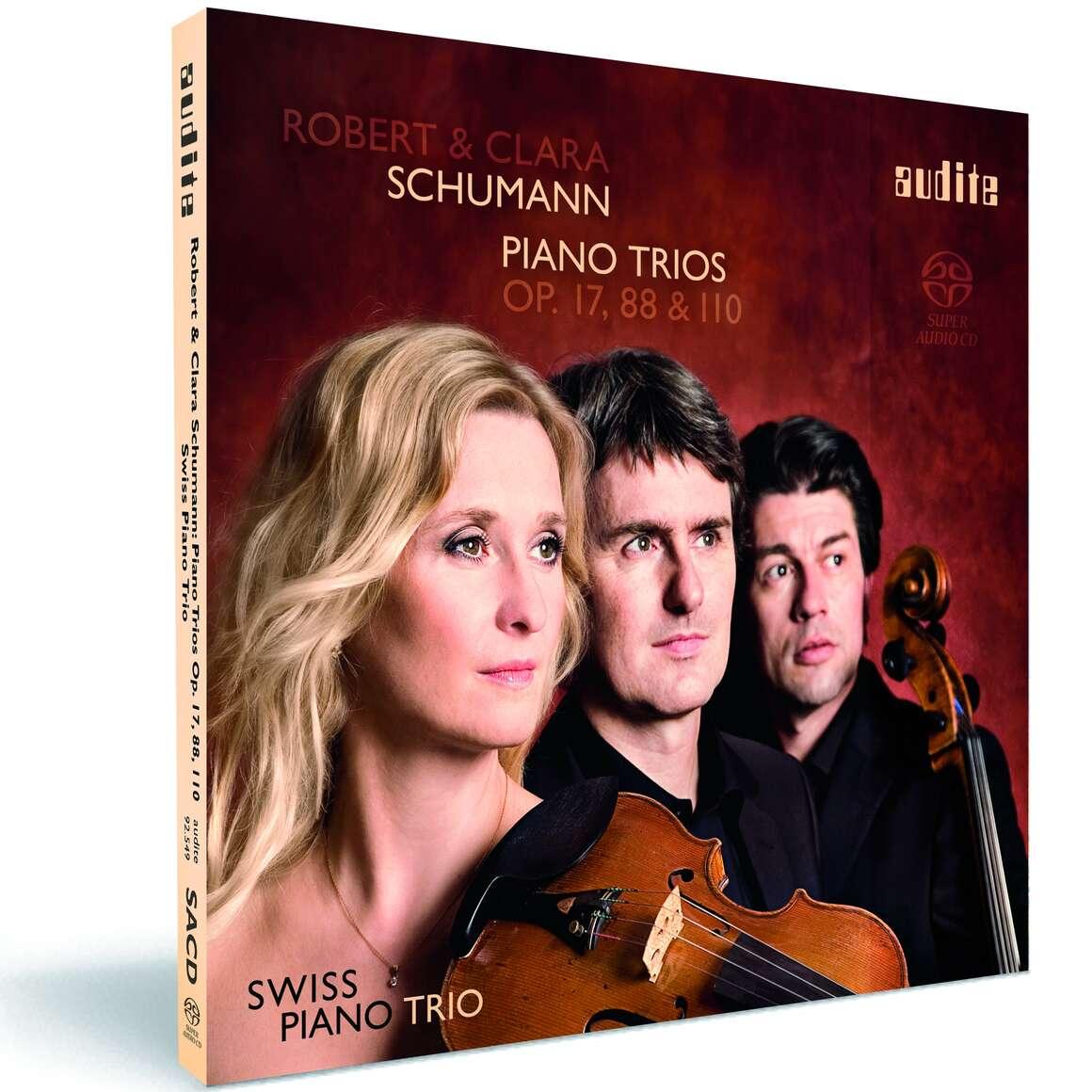 Robert & Clara Schumann: Piano Trios Op. 17, 88, 110