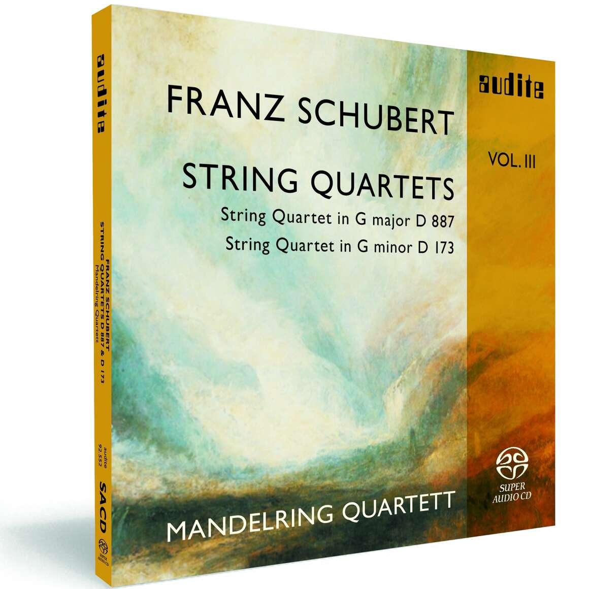 F. Schubert: String Quartets Vol. III