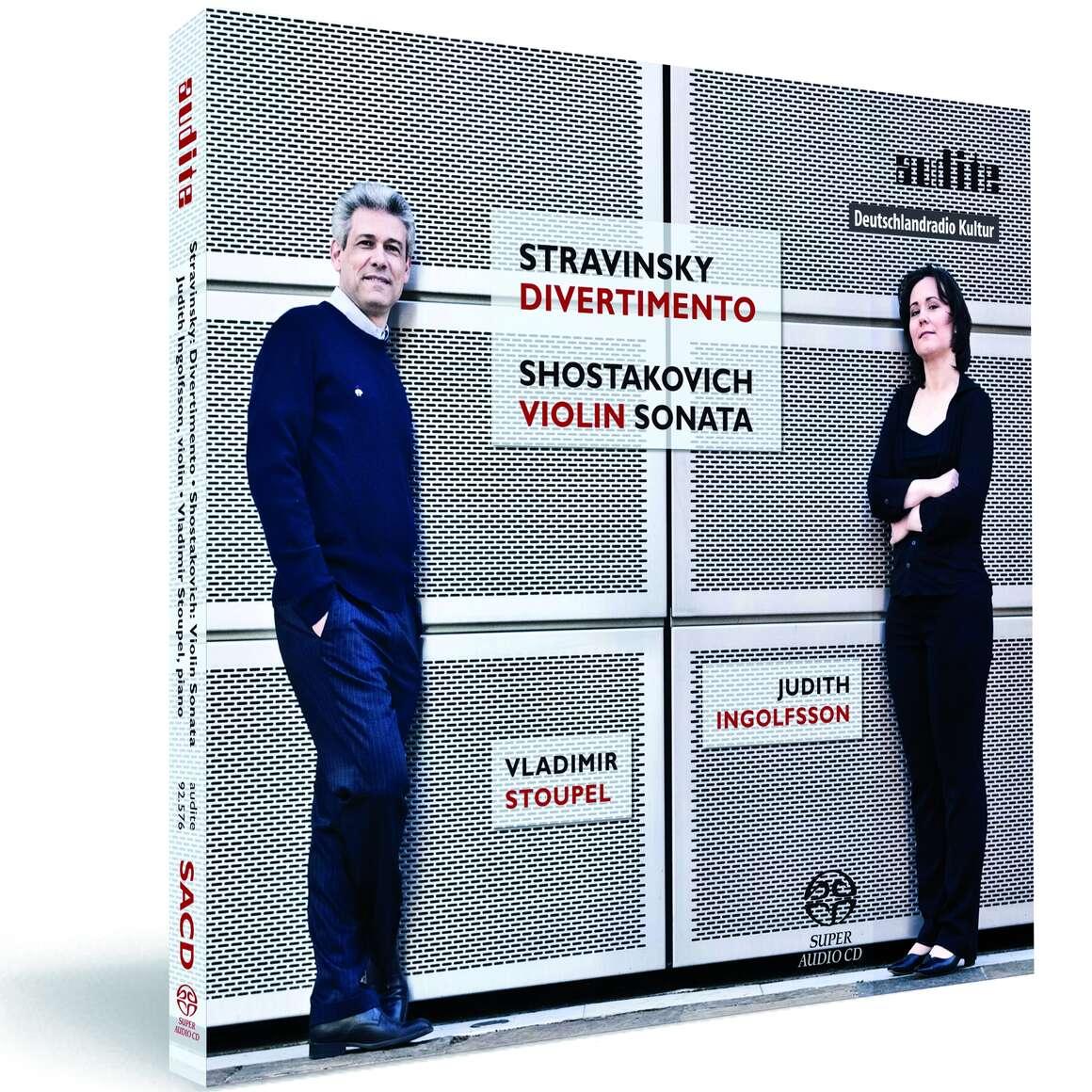 Works for Violin and Piano by Igor Stravinsky and Dimitri Shostakovich