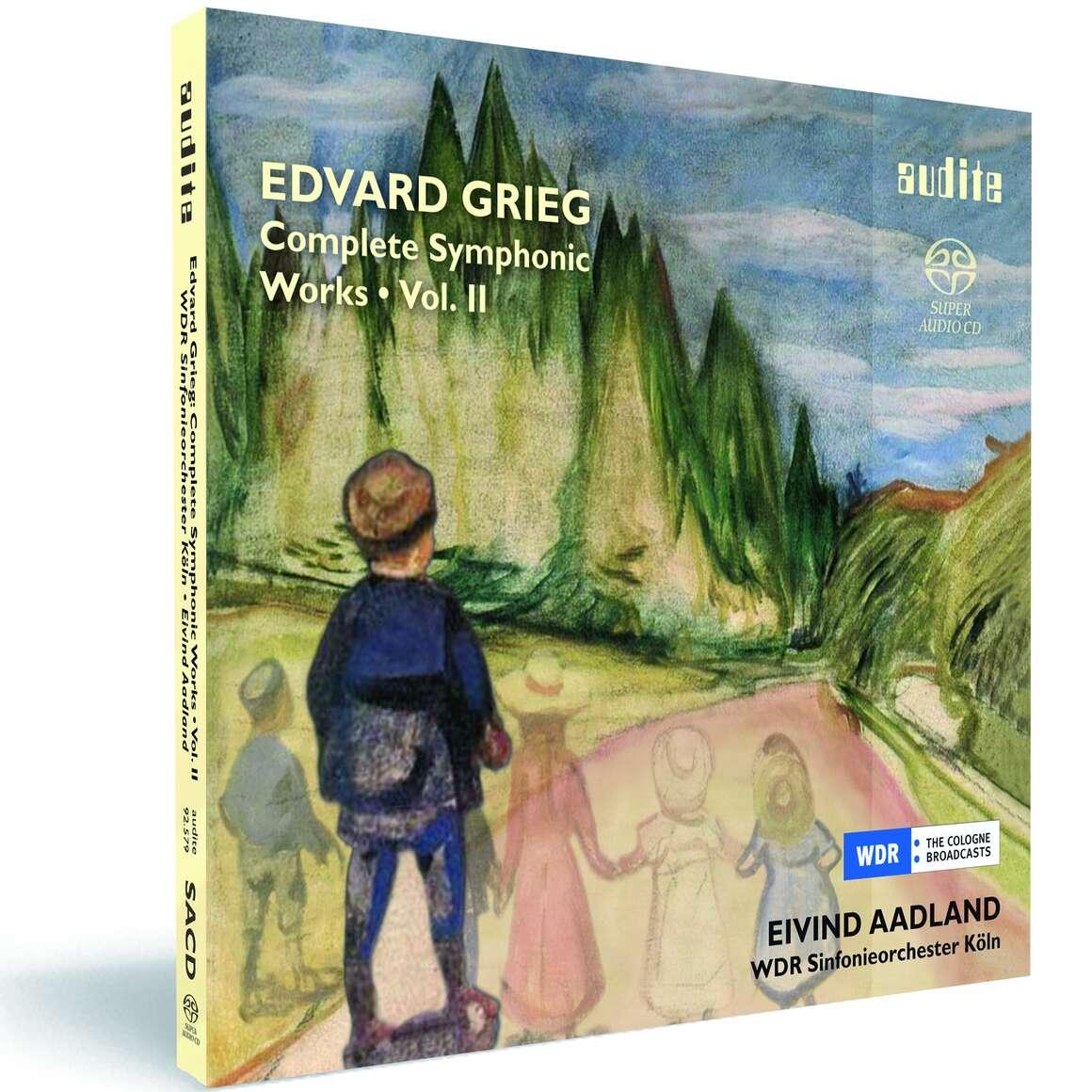 E. Grieg: Complete Symphonic Works Vol. II