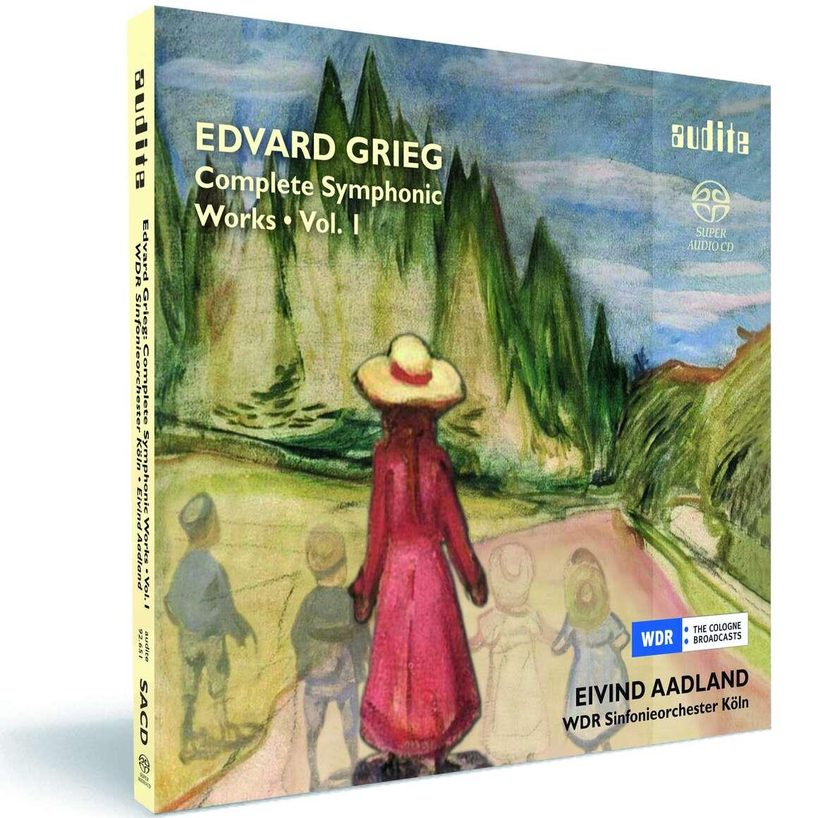 E. Grieg: Complete Symphonic Works Vol. I