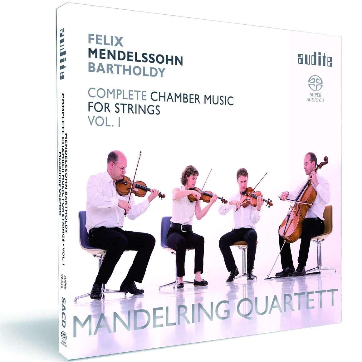 Felix Mendelssohn Bartholdy: String Quartets in E flat major (Op. 12), in A minor (Op. 13) & in E flat major (1823)