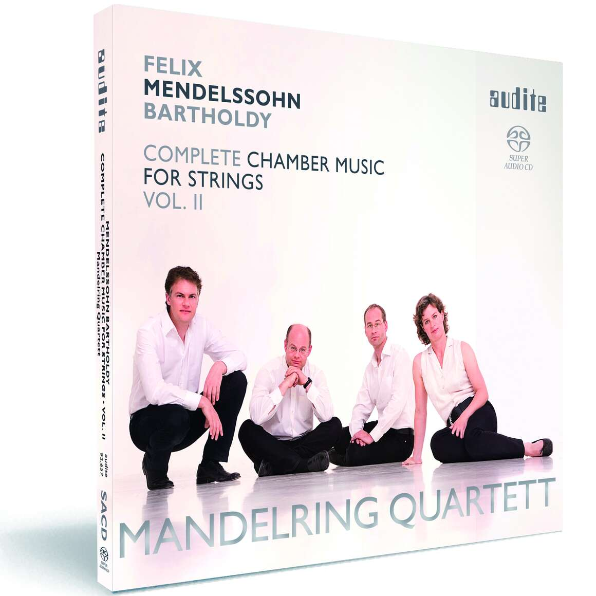 Felix Mendelssohn Bartholdy: String Quartets in D major (Op. 44 No. 1), in E minor (Op. 44 No. 2) & in F minor (Op. 80)
