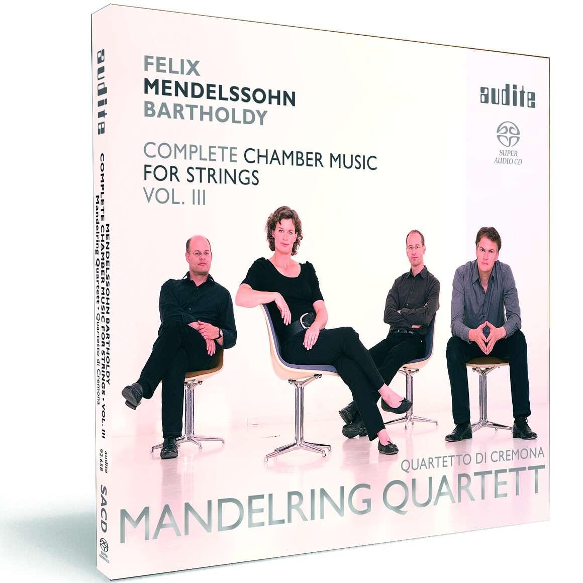 Felix Mendelssohn Bartholdy: String Quartet in E flat major (Op. 44 No. 3), Four Pieces for String Quartet (Op. 81) & Octet in E flat major (Op. 20)