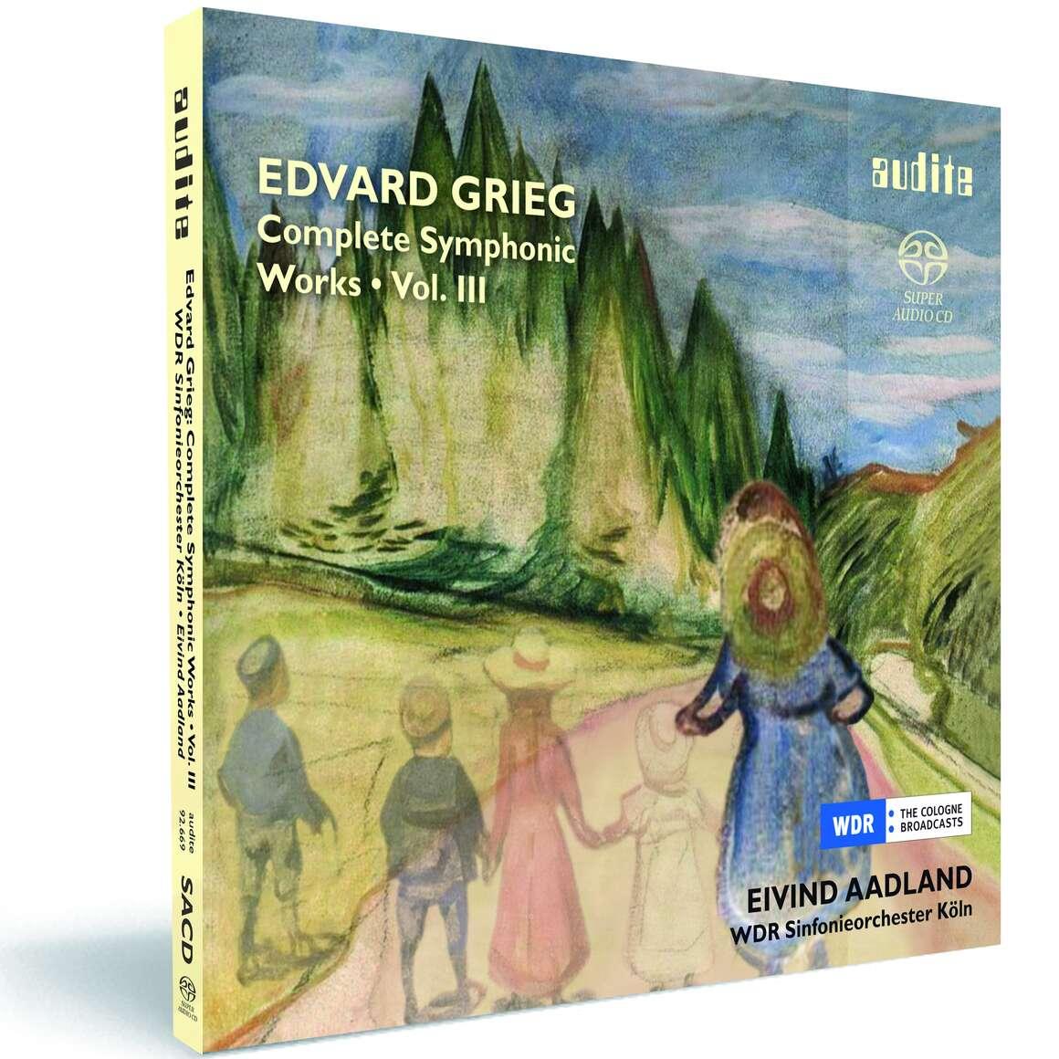 E. Grieg: Complete Symphonic Works Vol. III