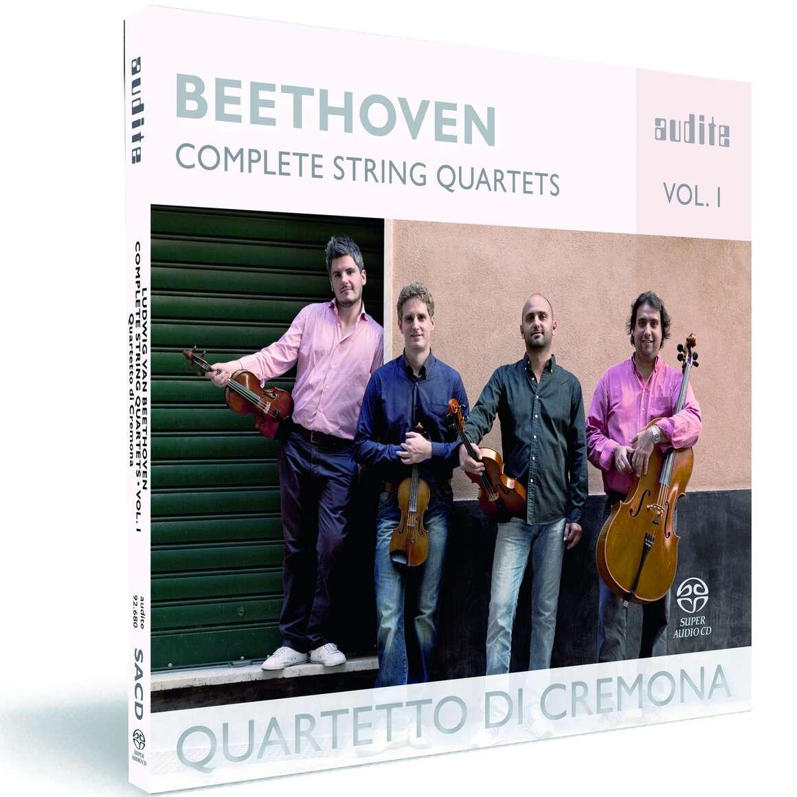 Ludwig van Beethoven: Complete String Quartets - Vol. 1