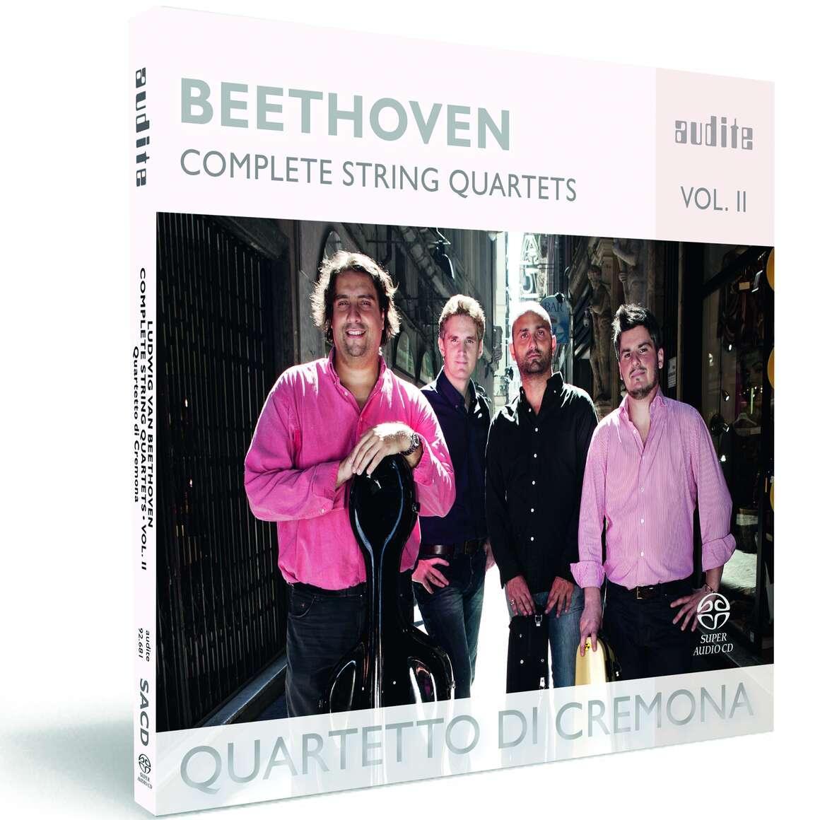 Ludwig van Beethoven: Complete String Quartets - Vol. 2