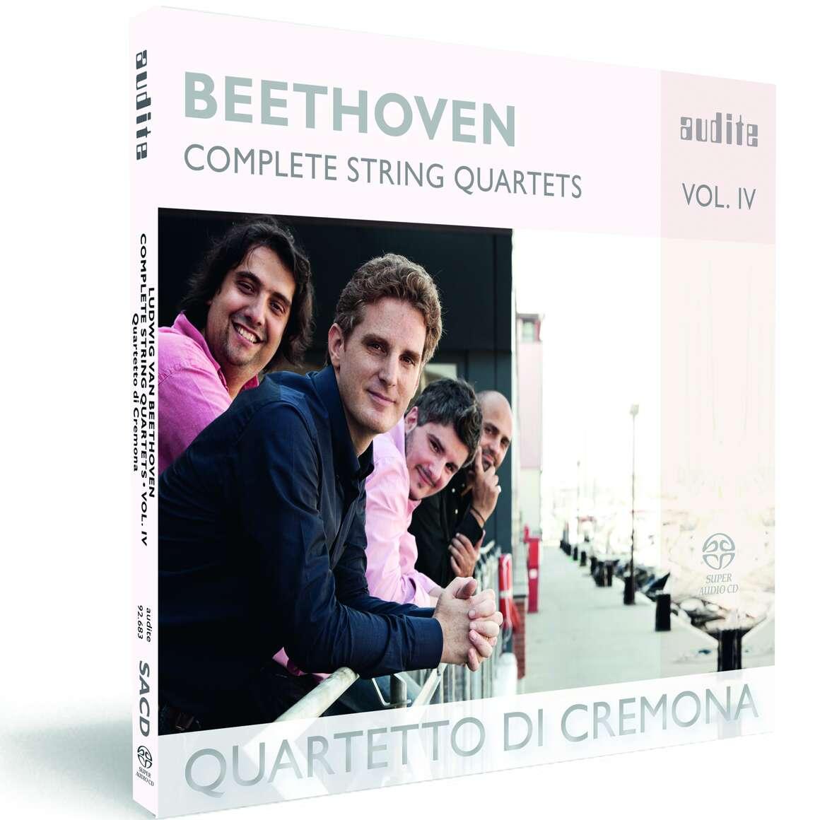 Ludwig van Beethoven: Complete String Quartets - Vol. 4